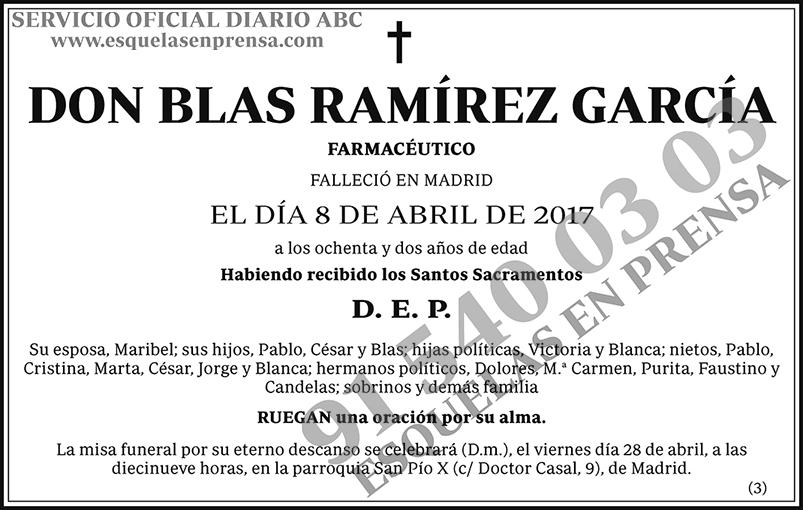 Blas Ramírez García